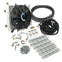 Transmission Components - Auxiliary Transmission Coolers - BD Diesel - BD Diesel | Xtruded Auxiliary Transmission Oil Cooler Kit | 1030606-1/2