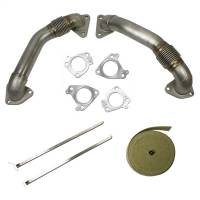 2001-2004 6.6L LB7 Duramax - Turbos & Turbo Kits - BD Diesel - BD Diesel | Turbocharger UpPipes Kit | 1043800