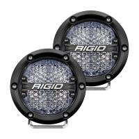 Lighting - LED Lights - Rigid Industries - 360-Series 4 Inch Led Off-Road Diffused White Backlight Pair RIGID Industries