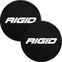 Lighting - Accessories - Rigid Industries - Cover For Rigid 360-Series 6 Inch Led Lights, Black Pair RIGID Industries