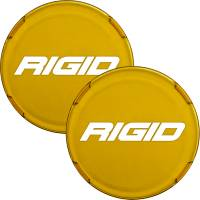 Lighting - Accessories - Rigid Industries - Cover For Rigid 360-Series 6 Inch Led Lights Amber Pair RIGID Industries