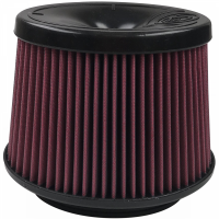 S&B   Air Filter For 75-5081,75-5083,75-5108,75-5077,75-5076,75-5067,75-5079 Cotton Cleanable Red    KF-1058