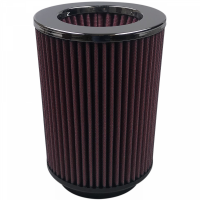 S&B   Air Filter For Intake Kits 75-1518 Oiled Cotton Cleanable Red    KF-1021