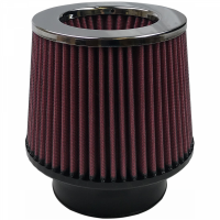 S&B   Air Filter For Intake Kits 75-1534,75-1533 Oiled Cotton Cleanable Red    KF-1017