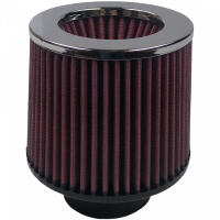 S&B   Air Filter For Intake Kits 75-1515-1,75-9015-1 Oiled Cotton Cleanable Red    KF-1011