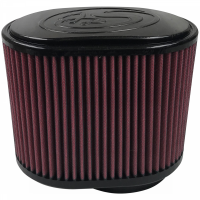 S&B   Air Filter For 75-5007,75-3031-1,75-3023-1,75-3030-1,75-3013-2,75-3034 Cotton Cleanable Red    KF-1008