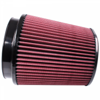 S&B   Air Filter for Competitor Intakes AFE XX-91053 Oiled Cotton Cleanable Red    CR-91053