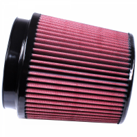 S&B   Air Filter for Competitor Intakes AFE XX-91050 Oiled Cotton Cleanable Red    CR-91050