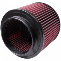 S&B   Air Filter for Competitor Intakes AFE XX-91046 Oiled Cotton Cleanable Red    CR-91046