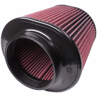 S&B   Air Filter for Competitor Intakes AFE XX-91044 Oiled Cotton Cleanable Red    CR-91044