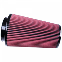 S&B   Air Filter for Competitor Intakes AFE XX-91036 Oiled Cotton Cleanable Red    CR-91036