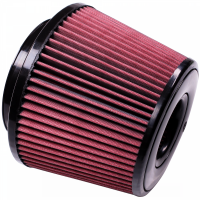 S&B   Air Filter for Competitor Intakes AFE XX-91035 Oiled Cotton Cleanable Red    CR-91035