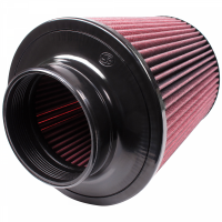 S&B   Air Filter for Competitor Intakes AFE XX-91002 Oiled Cotton Cleanable Red    CR-91002