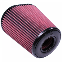 S&B   Air Filter for Competitor Intakes AFE XX-90037 Oiled Cotton Cleanable Red    CR-90037