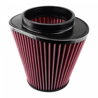 S&B   Air Filter for Competitor Intakes AFE XX-90032 Oiled Cotton Cleanable Red    CR-90032