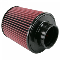 S&B   Air Filter for Competitor Intakes AFE XX-90026 Oiled Cotton Cleanable Red    CR-90026