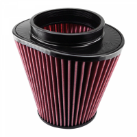 S&B   Air Filter for Competitor Intakes AFE XX-90020 Oiled Cotton Cleanable Red    CR-90020
