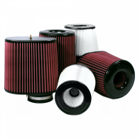 S&B   Air Filter for Competitor Intakes AFE XX-40035 Dry Extendable White    CR-40035D