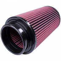 S&B   Air Filter for Competitor Intakes AFE XX-40035 Oiled Cotton Cleanable Red    CR-40035